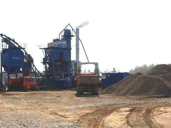 Завод Костромаавтодора начал производить асфальт для трех районов Костромской области