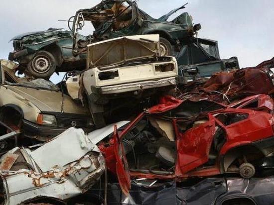 У жителя Мордовии украли автомобиль и сдали на металлолом