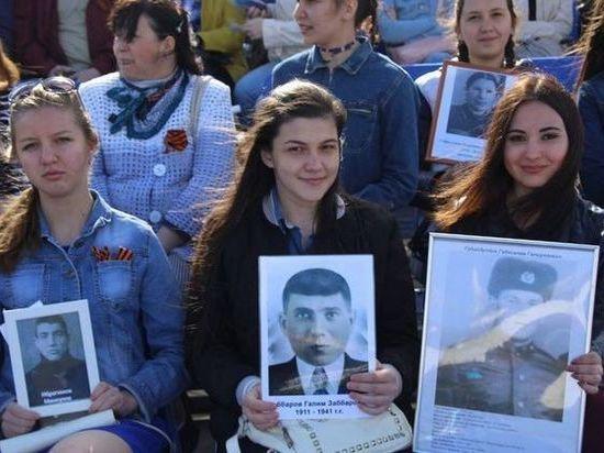 Более 1 600 казанских студентов приняли участие в акции «Бессмертный полк»