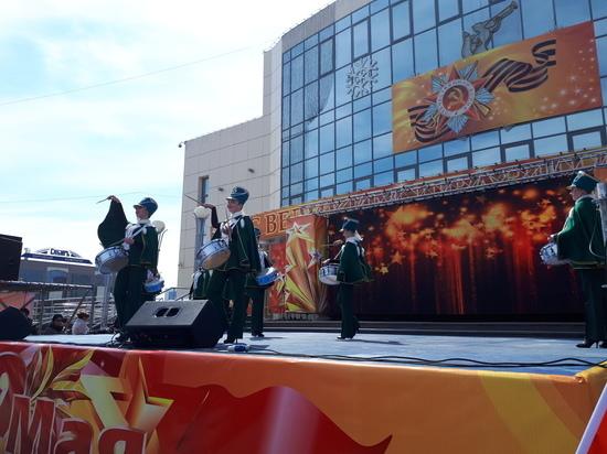 Парад Победы в Сургуте увидели десятки тысяч горожан