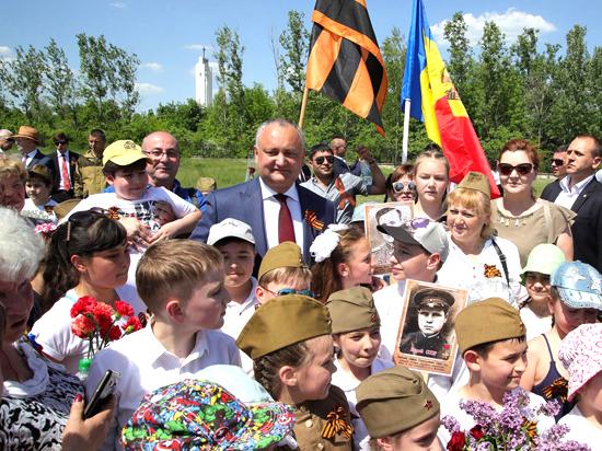 Накануне празднования Дня Победы социалисты почтили память героев на Шерпенском плацдарме