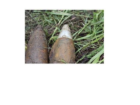 В Астраханской степи нашли боеприпасы времен Великой Отечественной