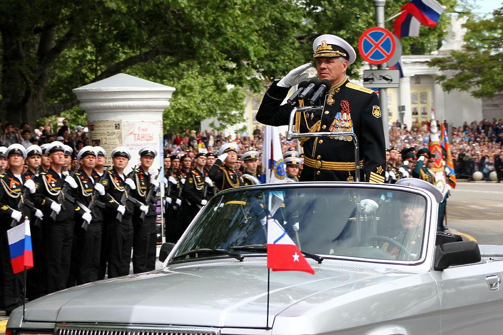 День Победы в Севастополе: военный парад и шествие Бессмертного полка
