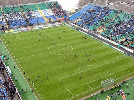 В Самаре на стадионе «Металлург» уложат искусственный газон