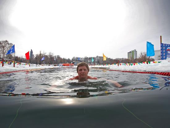 В Уфе состоятся всероссийские заплывы моржей