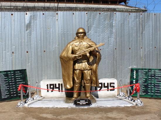 В Бурятии осужденные создали монумент в память о земляках, не вернувшихся с войны