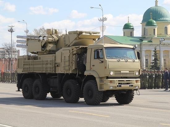 В Сети появилось видео уничтожения боевого комплекса «Панцирь-С»