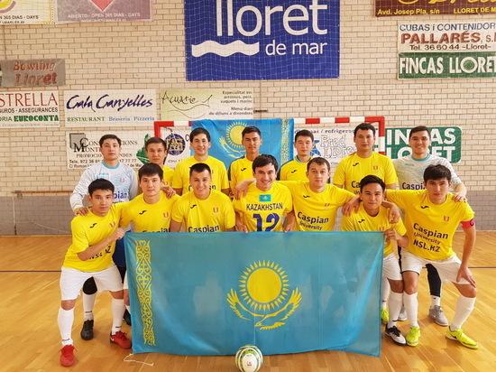 Казахстанские футболисты студенческой лиги открыли Европу