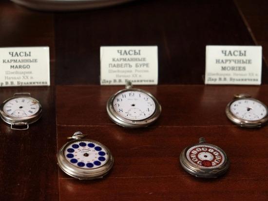 Музей часов в Бийске пополнился сотней новых экземпляров