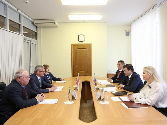 Глава Нижегородской области встретился с послом Австрии