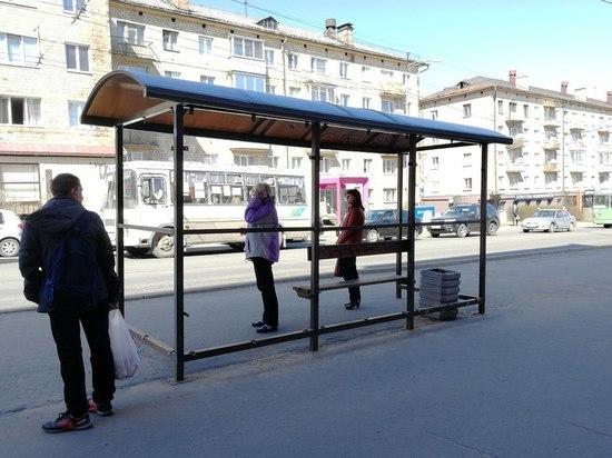 Новые, но некрасивые остановки из центра Петрозаводска перенесут на окраины