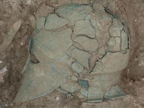 В Краснодарском крае нашли шлем богини Афины