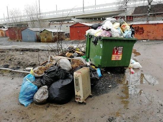 Первый пошел: с фирмой, вывозящей мусор в Петрозаводске и Прионежье, хотят разорвать контракт