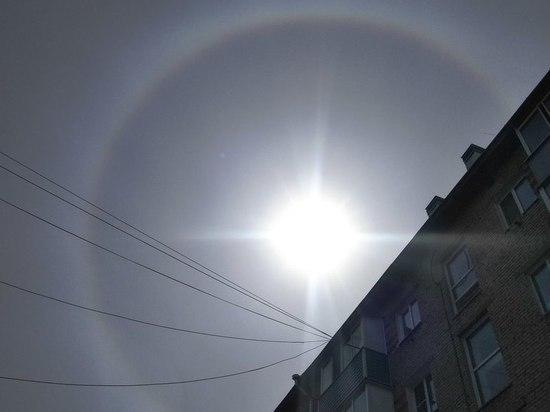 Гало над Барнаулом: к чему появляется редкий оптический феномен