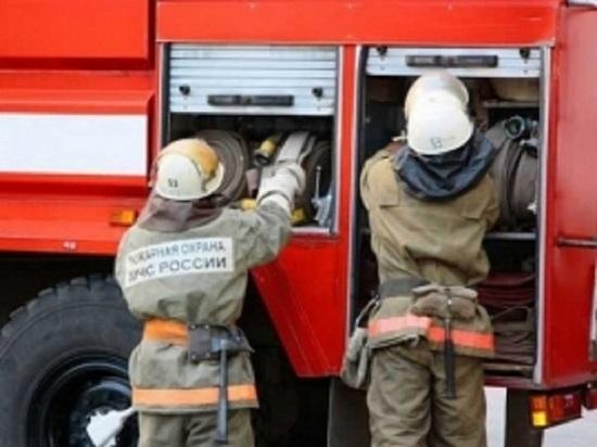 На улице Терешковой в Оренбурге сгорела иномарка «Datsun on-DO»