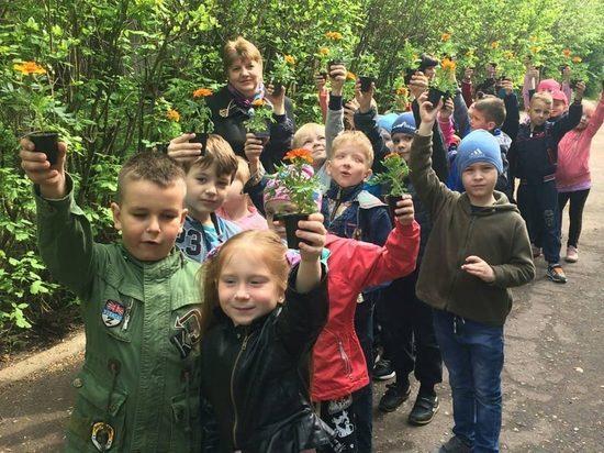 В Серпухове состоялась традиционная эколого-патриотическая акция «Лес Победы»