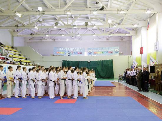 В Туле проходит чемпионат по киокусинкай