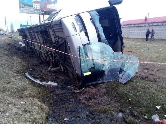 После ДТП с автобусом в Тверской области в больнице остаётся один пострадавший