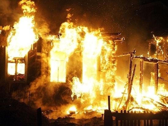Во время пожара в Татарстане погорельцы спасли 8 детей