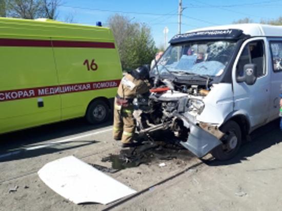 Орчане пострадали в аварии трамвая и «Газели»
