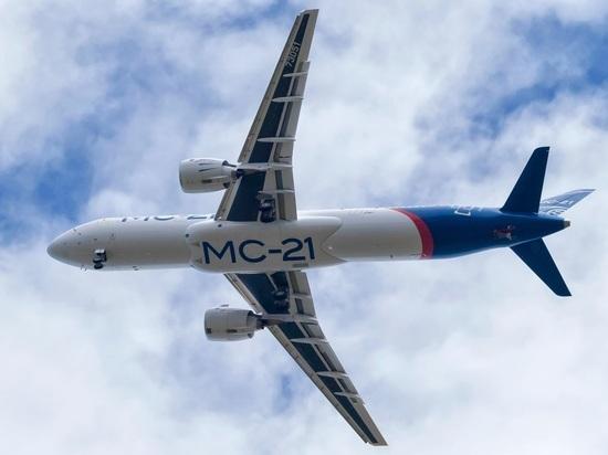 Второй самолет МС-21 проходит летные испытания
