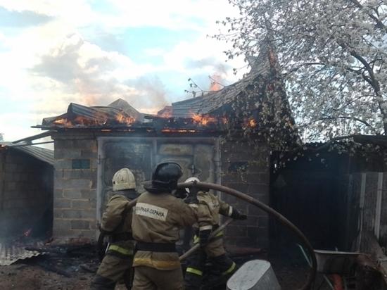 В Большой Туле сгорел дом