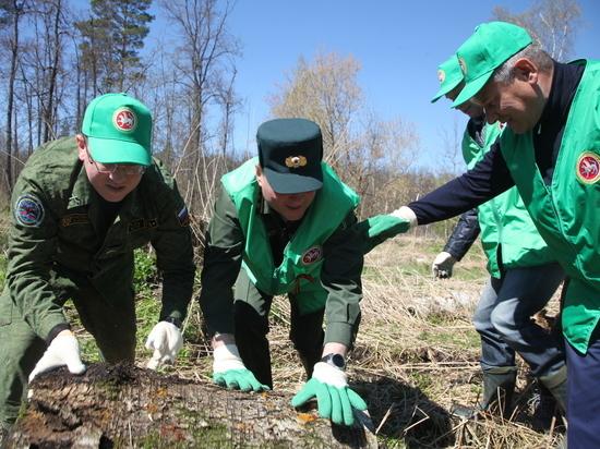 В республике провели акцию «Чистые леса Татарстана»
