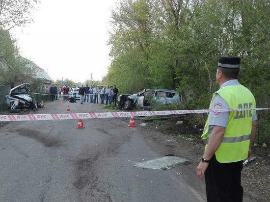 В Оренбургском районе преследуемый полицией водитель на «Citroen» протаранил машину ДПС