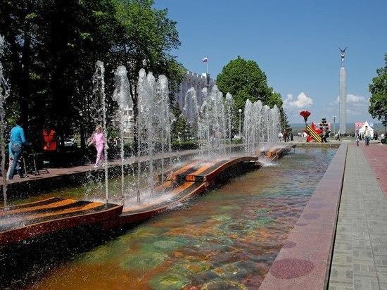 В Самаре рисунок чаши фонтана 30-летия Победы переложат