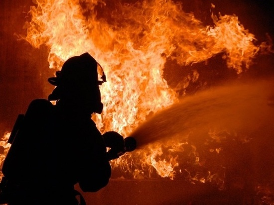 В Мордовии ночью при пожаре пострадал один человек