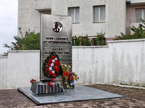 В Севастополе восстановили памятник защитнику города