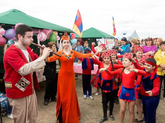 В Светлоярском районе широко отпраздновали татарский Сабантуй