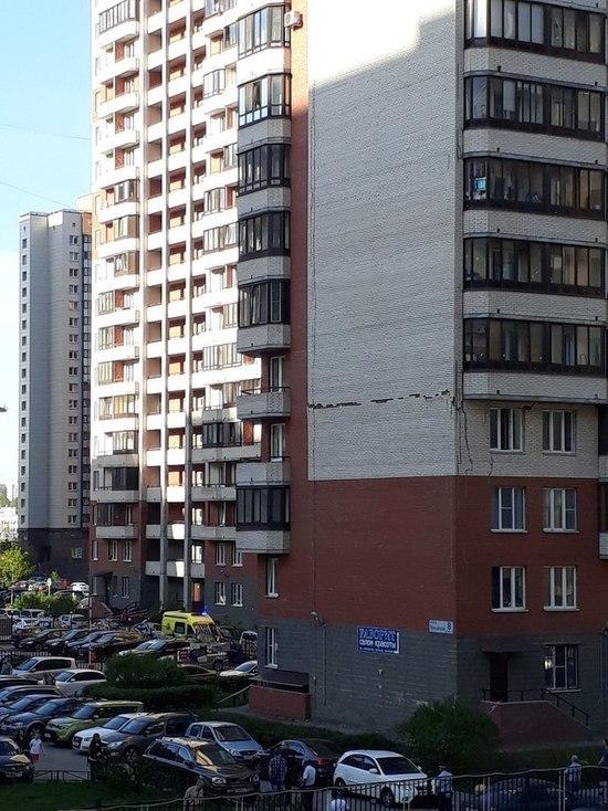 Дом на Пулковской дал трещину