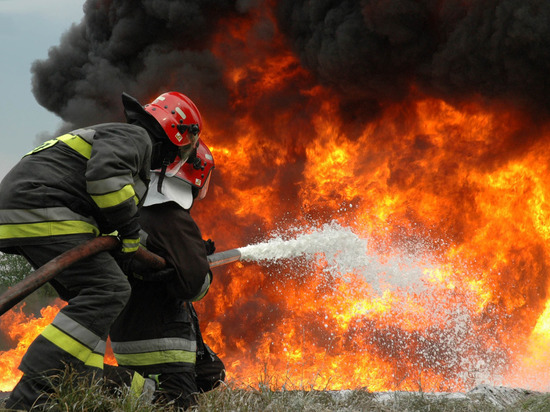 В Татарстане при пожаре сгорел пенсионер