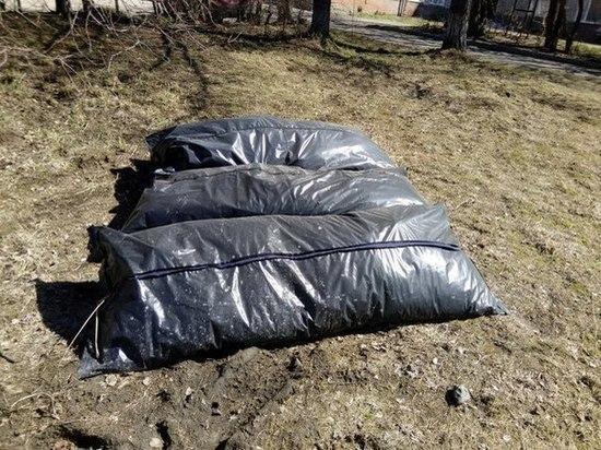 В Первоуральске не по назначению использовали мешки для трупов
