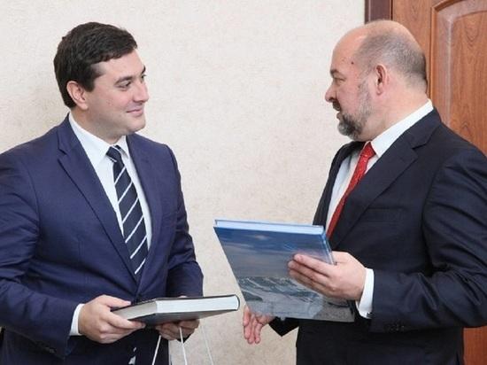Губернатор Орлов со свитой отбыл в Сербию рекламировать Архангельскую область