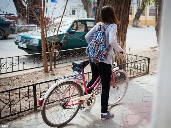 В Астрахани откатали Велопарад-2018