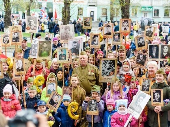 «Ростелеком» в Барнауле поддержал детский «Бессмертный полк»