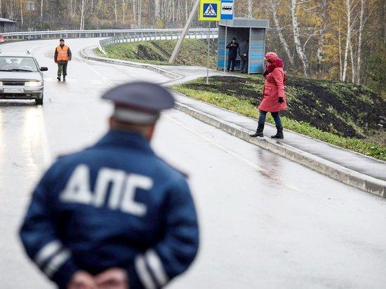 За выходные инспекторы ДПС оштрафовали 92 пешехода