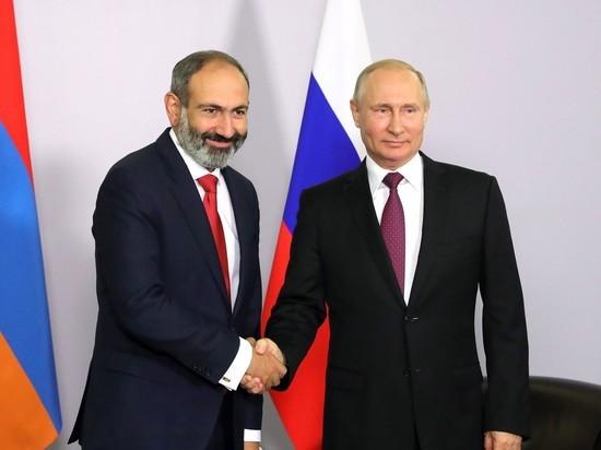 Приезд Пашиняна к Путину омрачили пузыреногие
