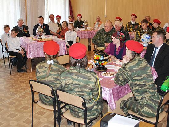 В Сандове Тверской области встретились представители трех поколений