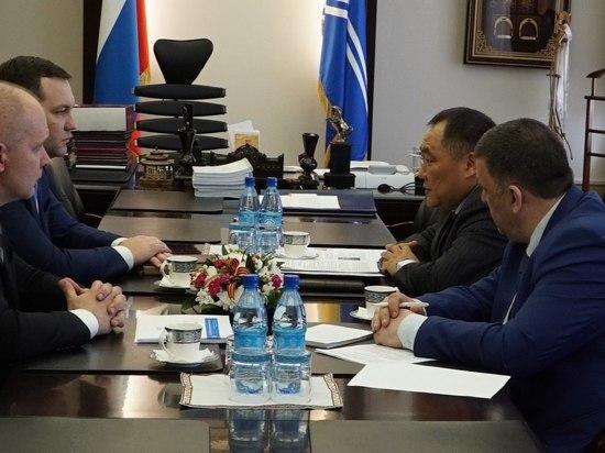Интернетизацию Тувы ростелекомовцы обсудили с главой региона