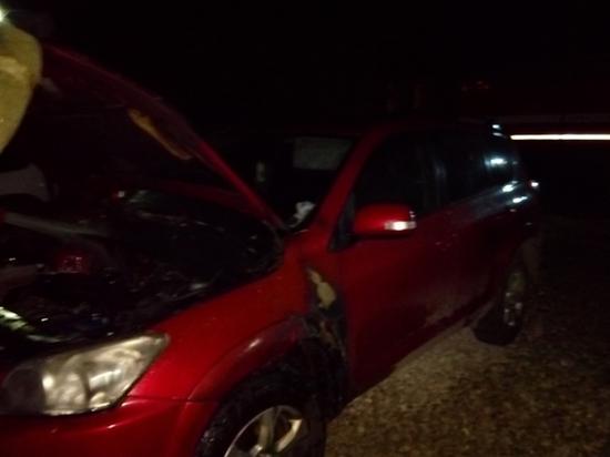 На Епифанской в Туле сгорел автомобиль