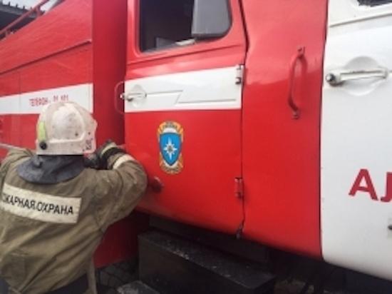 В Арсеньевском районе сгорел дом