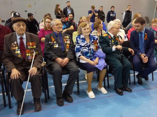 Зрителями турнира стали ветераны ВОВ