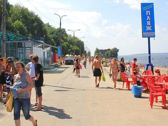 На это лето в Чебоксарах могут оставить только два пляжа