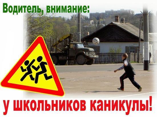 В Кесовогорском районе школьникам напоминают о правилах дорожного движения