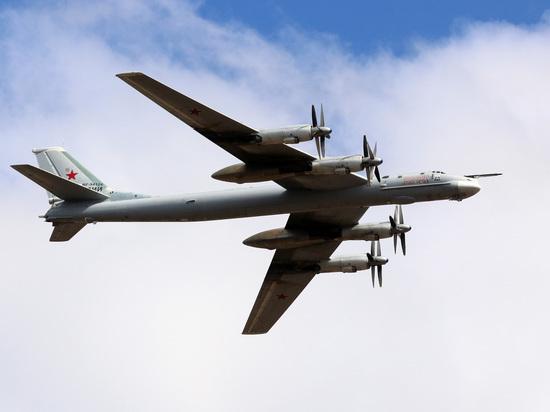 В Минобороны рассказали о встрече Ту-95 с американскими F-22