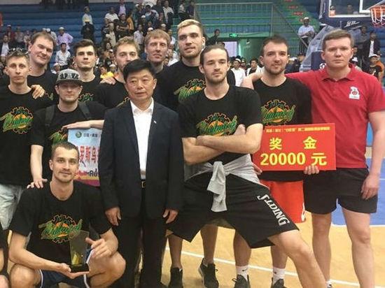 «Уралмаш» выиграл международный турнир в Китае