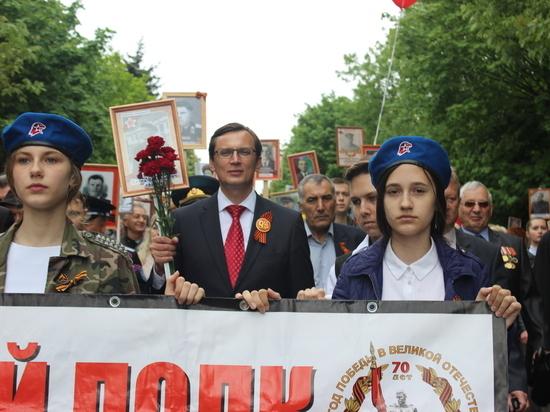 В парадном шествии в Железноводске прошли более 10 тысяч человек